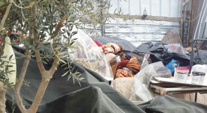 في الشتاء: هدم منزل في بيت حانينا وتشريد سكانه!