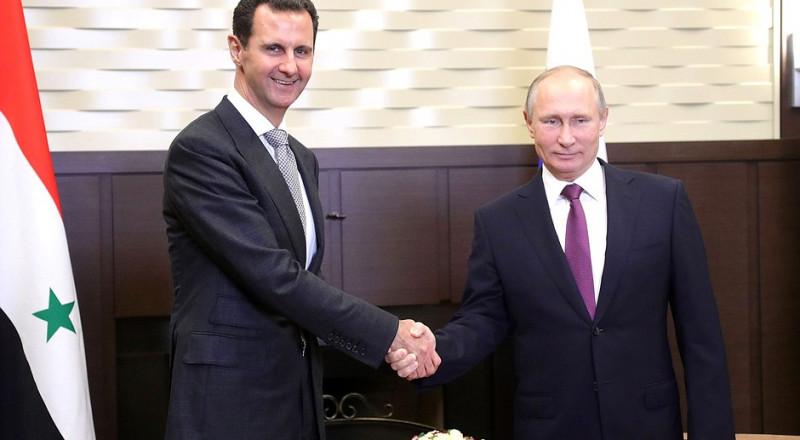 ماذا قال الأسد لبوتين في الزيارة المفاجئة؟ وأي هدية قدّم له؟