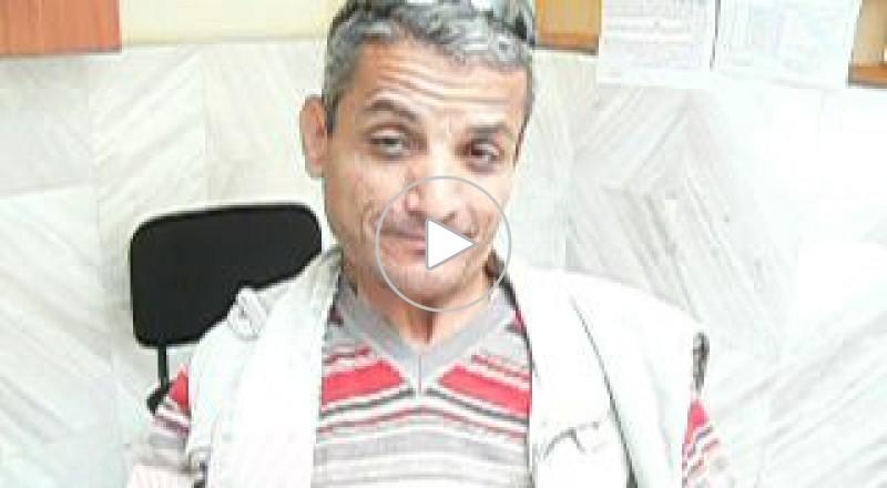 طمرة : صرخة المقعد صالح أبو الهيجاء للمسؤولين باننا بشر ونستحق الحياة .