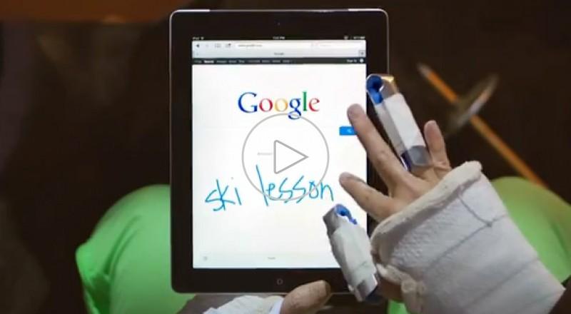 جوجل تتطلق بحث بخط اليد !