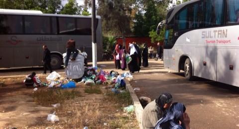 معتمرون من سولم وبلدات أخرى: ننتظر من الصباح بالشونة والحافلات لم تصل