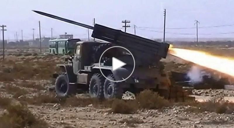 الجيش السوري يقطع طريق إمداد داعش بين تدمر والرقة
