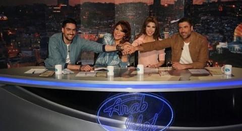 وائل كفوري مع اروع لجنة حكم حسن ، ونانسي ، وأحلام