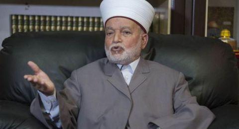 المفتي العام: المسجد الأقصى المبارك إسلامي رغم أنف الكارهين