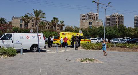 غرق رجل في عكا ونقله للمستشفى بحالة صعبة جدًا