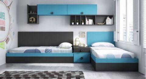 4 موديلات لغرف نوم شبابية توفر المساحة بتصميمات مودرن