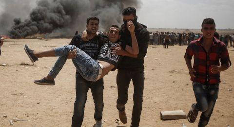 الصحة: 112 شهيدًا و13 ألف إصابة بمسيرات العودة