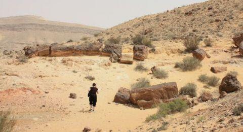 زوجان تاها في صحراء النقب وكاد العطش والجوع يقتلهما ..