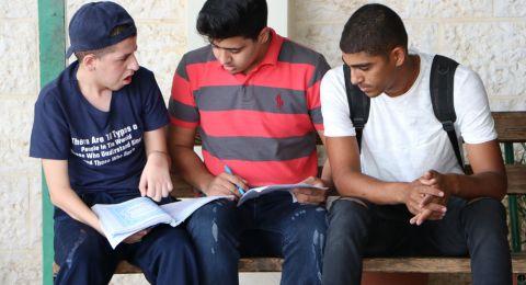 76811 طالبا وطالبة في الضفة وغزة والقدس يتوجهون لأداء امتحان