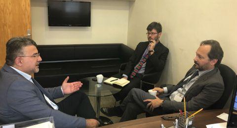 النائب جبارين يلتقي السفير الأوروبي، والاتحاد الأوروبي يطالب بالتحقيق باعتداءات الشرطة