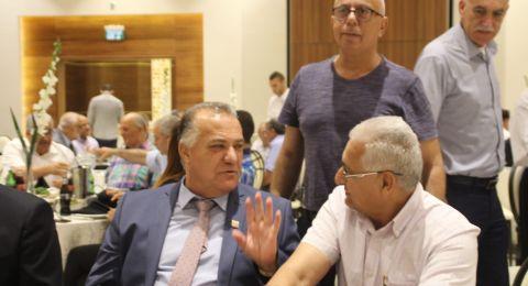 الناصرة: مركز السلطات المحلية ينظم مأدبة افطار جماعي للرؤساء العرب