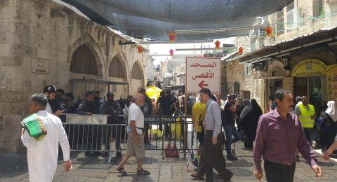 القدس: الشرطة الإسرائيلية تستعد لنشر الآلاف من عناصرها في الجمعة الثانية من رمضان