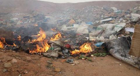 الكنيست تصادق بالقراءة الأولى على اقتراح قانون يحظر حرق النفايات