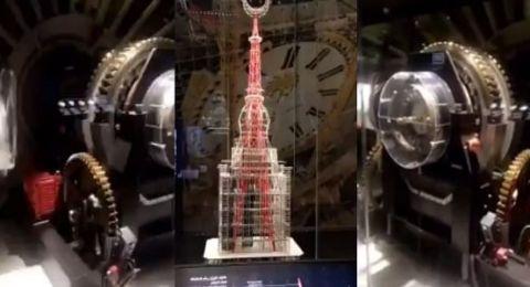 ساعة برج مكة من الداخل كما لم تراها من قبل