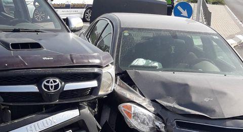 طمرة: حادث طرق و-6 اصابات متفاوتة