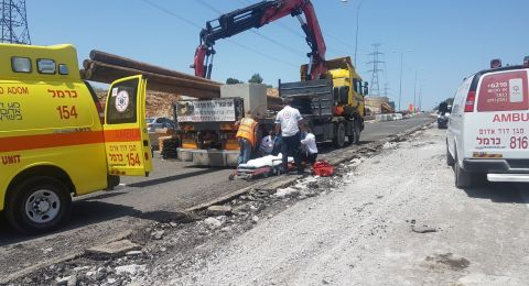 شفاعمرو: اصابة عامل بصورة خطرة في رجله