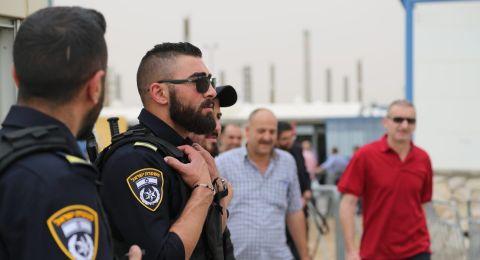 اردان يراقب عمل الشرطة في صلاة الجمعة الثانية من رمضان