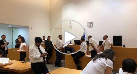 ليلة ساخنة في حيفا: محاكمة المعتقلين، مظاهرة منددة بالإعتقالات، ومظاهرة لليمين