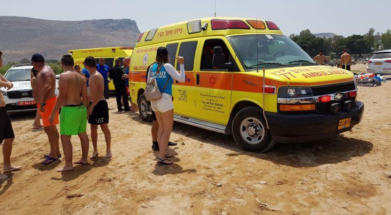 إصابة سيدتين بتصادم قاربين في طبريا