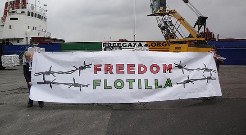 من كوبنهاجن: انطلاق سفن كسر الحصار على غزة