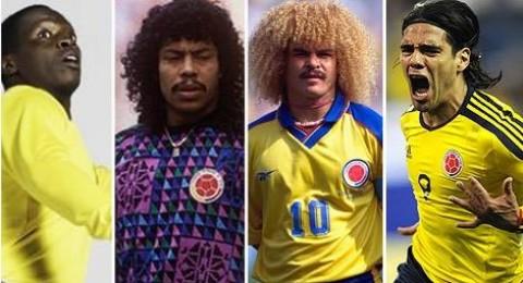 أحدثهم جيمس رودريجيز.. أعظم خمسة لاعبين في تاريخ كولومبيا