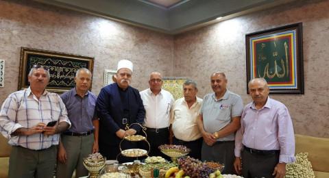 لجنة المبادرة العربية الدرزية تلتقي الشيخ موفق طريف