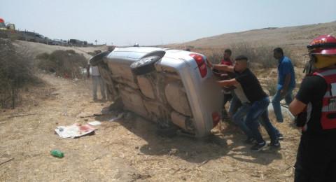 إصابتان بحادث طرق مروع في الجنوب