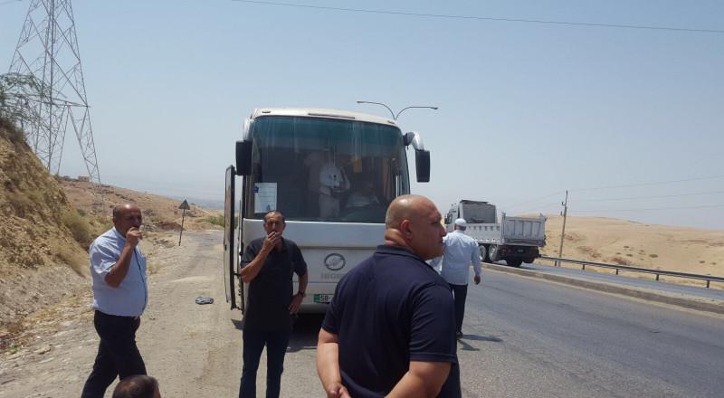 تأخير انطلاق حافلات حجاج الناصرة وعين ماهل وطرعان بسبب عطل في الحافلة