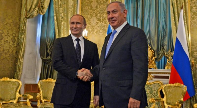 نتنياهو يلتقي بوتين بموسكو الأربعاء