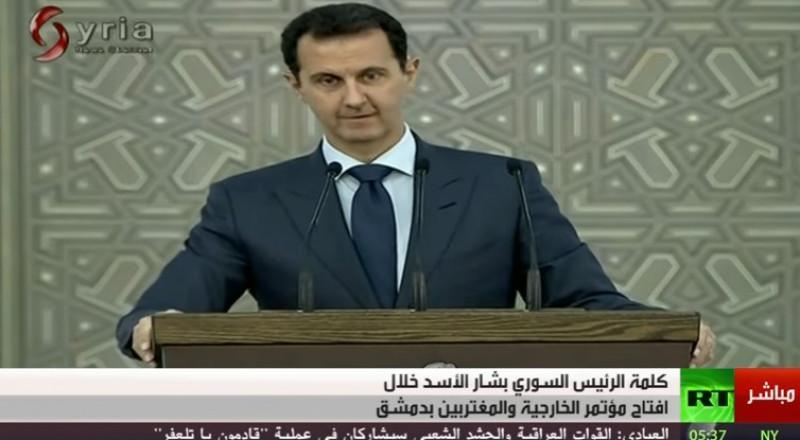 الأسد: خسرنا خيرة شبابنا وشكرا لروسيا وإيران وحزب الله