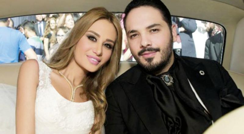 داليدا ورامي عياش يحتفلان بعيد زواجهما