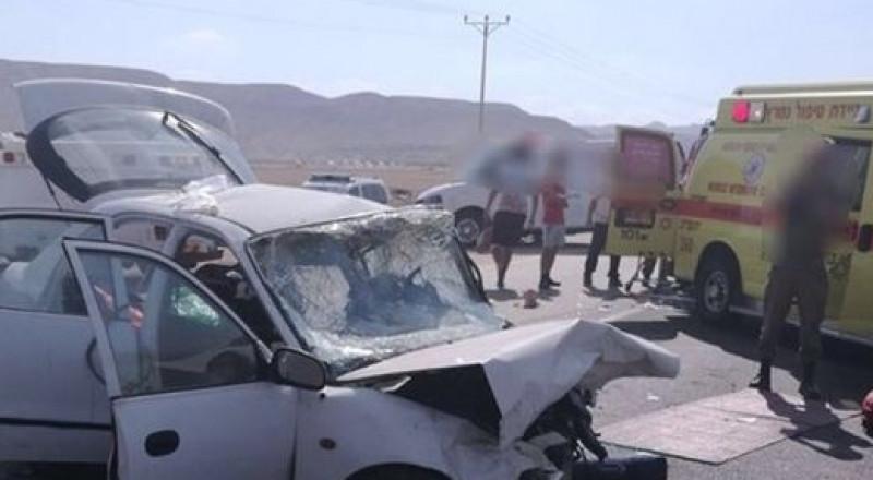 7 إصابات بينها بالغة في حادث سير على طريق البحر الميت