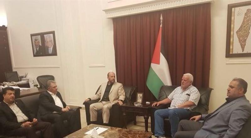 لقاء طارئ بين قيادتي فتح وحماس في لبنان حول أحداث عين الحلوة