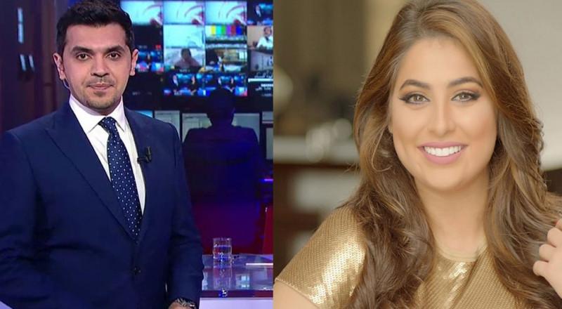 زواج الإعلامي السعودي حمود الفايز والإعلامية رؤى الصبان