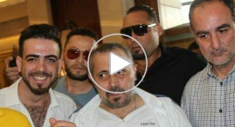 فيديو : لحظة وصول سلطان الطرب الى عمان