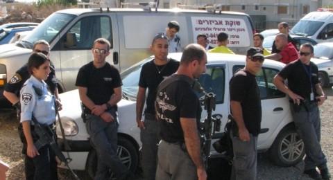الشرطة توقف مباراة الطيبة - مورشا بداعي عدم المصادقة على الملعب