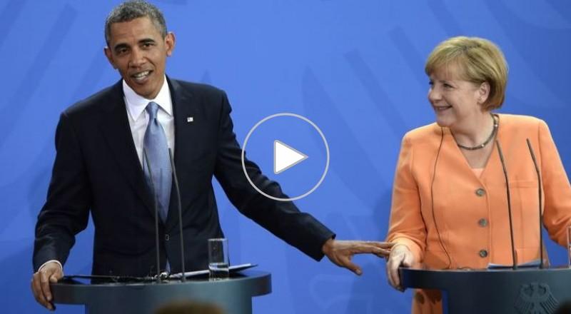 ألمانيا تستدعي السفير الأمريكي.. وميركل تطالب أوباما بإيضاحات بشأن التنصت عليها