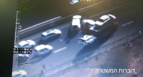 الشرطة تطارد سائق سار بعكس حركة السير!