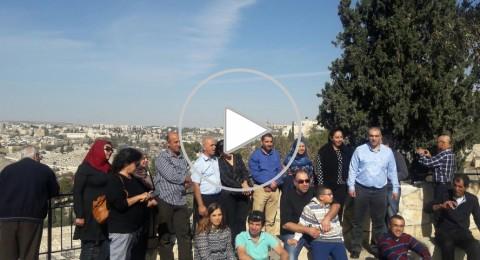 حملة لاحياء العمل التطوعي وتنشيط السياحة في القدس