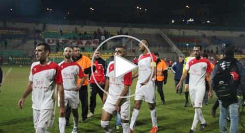 انتهاء مباراة هبوعيل ام الفحم وشبيرا حيفا بالتعادل