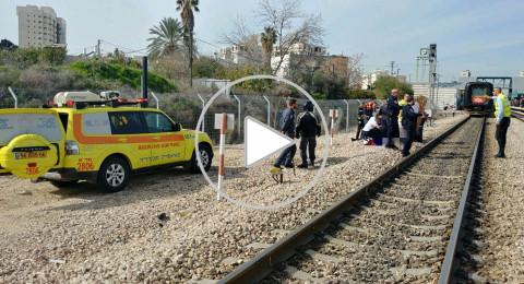 الرملة: مصرع سيدة رمت بنفسها أمام القطار