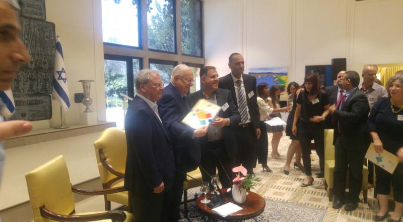حازت مجموعة أوسم على جائزة دوﭪ لاوتمان في الأعمال التجارية المتنوعة بشأن دمج السكان العرب في المجتمع