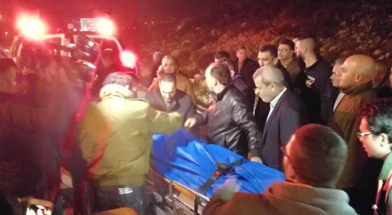 الاحتلال يسلم جثمان الشهيد عطا الله