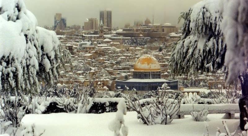 عاصفة أخرى قادمة وثلوج قد تغطي القدس نهاية الأسبوع .. إليكم التفاصيل