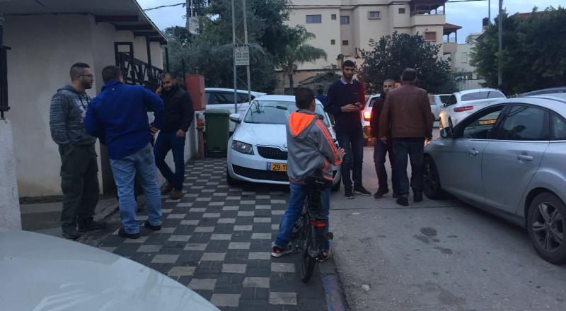 اطلاق رصاص في كفر قاسم واصابة شخصين بجراح طفيفة ومتوسطة