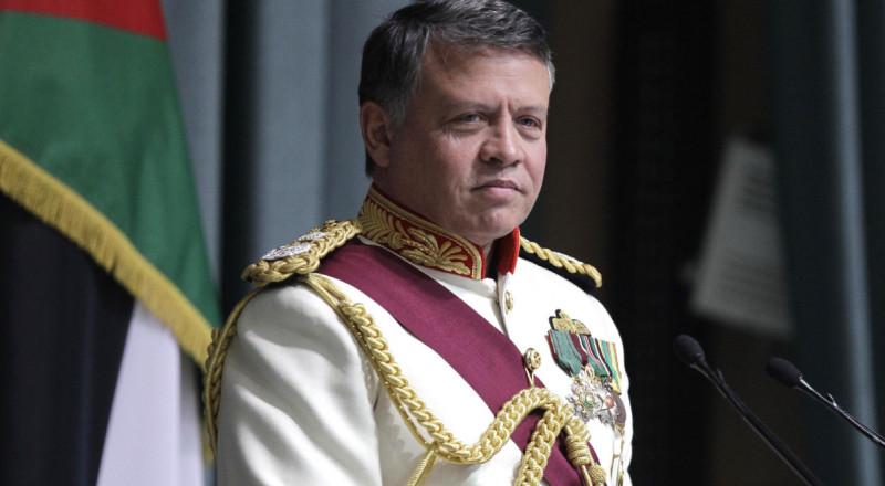 ملك الأردن: متفائل بإمكانية تجديد المفاوضات