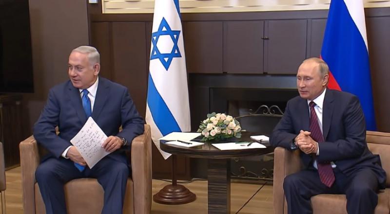 لقاء قمة بين بوتين ونتنياهو في موسكو نهاية الشهر الجاري