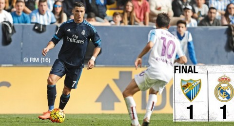 ريال مدريد يخرج بتعادل غير مستحق من جحيم ملقا