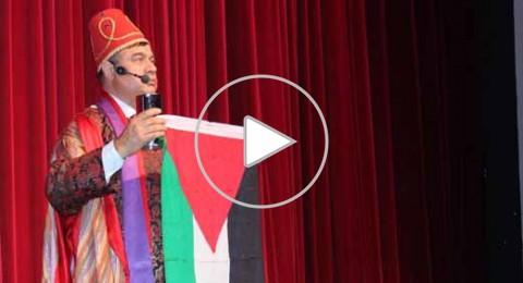 الفنان الأردني متعب الصقار يحيي حفلا فنيا في رام الله