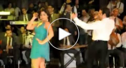 سعد الصغير يرقص آيتن عامر بإثارة 2013